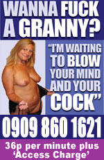 Wanna Fuck Granny Advert